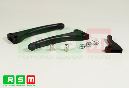 Set manete negre Piaggio moped/CIF