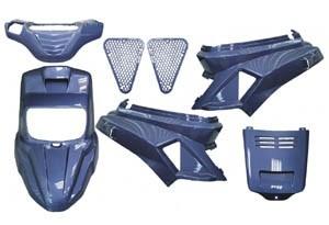 Kit carenaj MBK Booster albastre TW