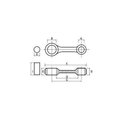 Kit biela Aprilia Rotax 125