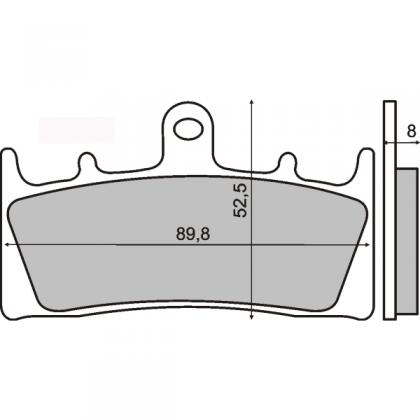 Placute frana fata Suzuki Gsx 1400cc/RMS 1170