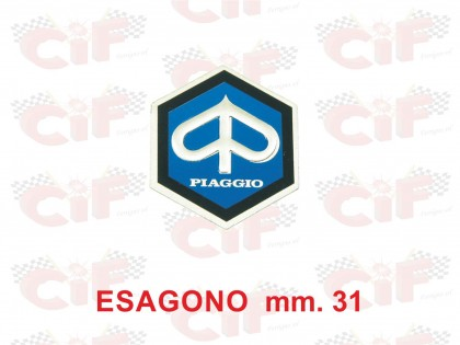 Emblema Piaggio adeziva/CIF 5776