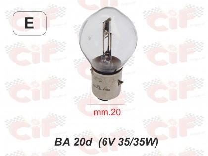 Bec para 6V 35/35W/CIF 1403